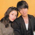 Satomi Ishihara with her ex-boyfriend Yamashita Tomohiro