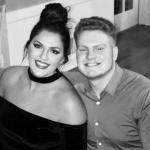 Stefanie Dolson with her brother Jake Dolson