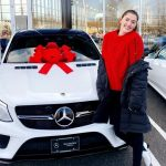 Stefanie Dolson with her car