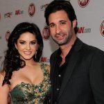 Sunny Leone with her boyfriend Daniel Weber
