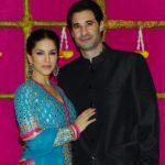 Sunny Leone with her husband Daniel WeberSunny Leone with her husband Daniel Weber