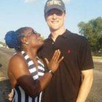 Tamyra Mensah Stock with her boyfriend Jacob Stock