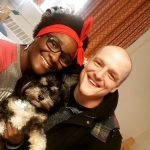 Tamyra Mensah Stock with her husband Jacob Stock