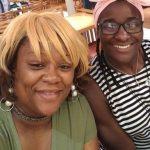 Tamyra Mensah Stock with mother Shonda wells