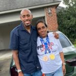 Vernon Norwood with his mother Charliette Ray