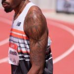 Vernon Norwood's left hand tattoos