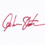 William Shaner signature