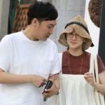 Yū Aoi with her boyfriend Ryota Yamasato
