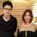 Yukie Nakama with her boyfriendTetsushi Tanaka