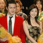 Yuko Takeuchi with her ex-boyfriend Shido Nakamura