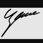 Zhang Yiming signature