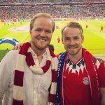 Christopher Rühr with his brother Alex Rühr