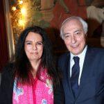 Françoise Bettencourt Meyers with her husband Jean-Pierre Meyers