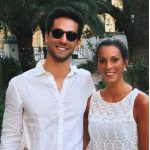 Lukas Windfeder with his girlfriend Melanie Terber