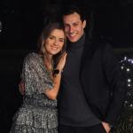 Timur Oruz with his girlfriend Pauline Heise