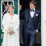 Tobias Hauke with his girlfriend Alini Hauke